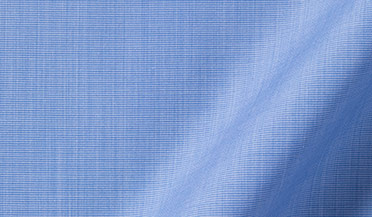 Stanton 120s Blue End-on-End Fabric Sample