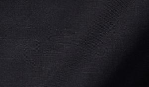 Portuguese Black Cotton Linen Oxford Fabric Sample
