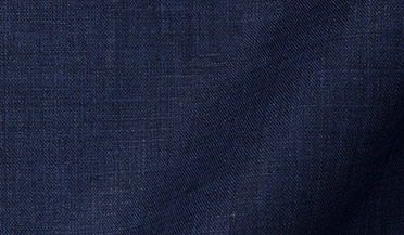 Fabric swatch of Grandi and Rubinelli Washed Navy Linen Fabric