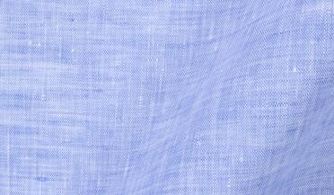 Grandi and Rubinelli Washed Light Blue Linen Fabric Sample