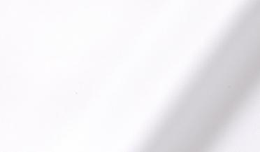 Fabric swatch of Thomas Mason Goldline White Wrinkle-Resistant Twill Fabric