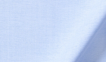 Fabric swatch of American Pima Light Blue Heavy Oxford Fabric