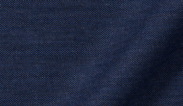 Fabric swatch of Navy Melange Oxford Fabric