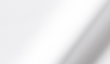 Fabric swatch of Thomas Mason Wrinkle-Resistant White Royal Oxford Fabric