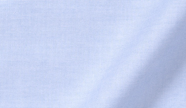 Custom shirt made with Non-Iron Supima Blue Pinpoint Fabric