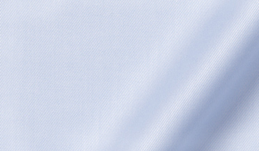 Custom shirt made with Lafayette Light Blue Twill Fabric
