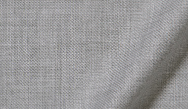 Custom shirt made with Albini Grey Melange Tencel Fabric