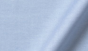Custom shirt made with Mayfair Wrinkle-Resistant Light Blue Pinpoint Fabric