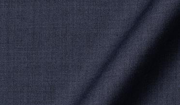 Custom shirt made with Reda Slate Melange Merino Wool Fabric