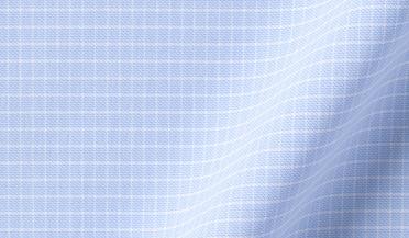 Custom shirt made with Performance Light Blue Micro Check Fabric