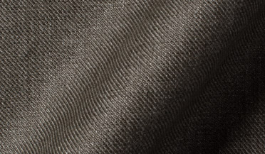 Fabric swatch of Albini Washed Fatigue Linen Twill Fabric