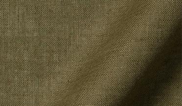 Baird McNutt Olive Irish Linen Fabric Sample