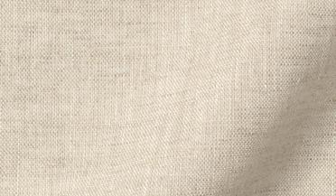 Fabric swatch of Baird McNutt Natural Beige Irish Linen Fabric