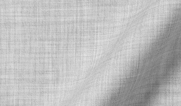 Custom shirt made with Reda Light Grey Melange Merino Wool Fabric