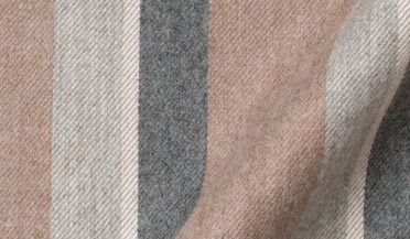 Fabric swatch of Canclini Camel Shadow Stripe Beacon Flannel Fabric
