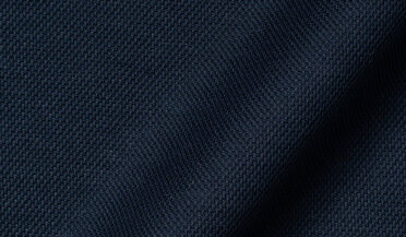 Fabric swatch of Canclini Navy Knit Pique Fabric