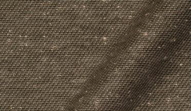 Custom shirt made with Canclini Sage Slub Knit Fabric