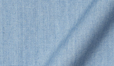 Fabric swatch of Light Blue Indigo Chambray Fabric