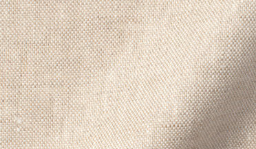 Di Sondrio Natural Dye Basketweave Linen Fabric Sample