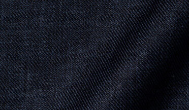 Fabric swatch of Albini Washed Navy Linen Twill Fabric