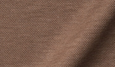 Fabric swatch of Canclini Melange Mocha Knit Pique Fabric