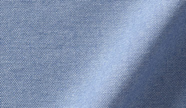 Fabric swatch of Albiate Washed Indigo Heavy Oxford Fabric