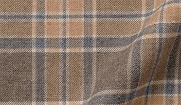 Fabric swatch of Satoyama Maple Plaid Flannel Fabric