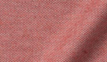 Fabric swatch of Canclini Light Red Birdseye Beacon Flannel Fabric