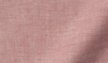 Fabric swatch of Portuguese Red Brushed Chambray Fabric