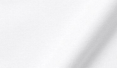Fabric swatch of American Pima White Heavy Oxford Fabric