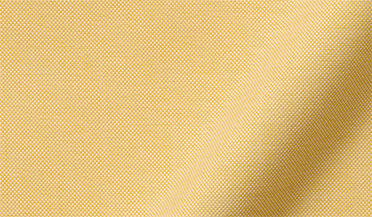 Fabric swatch of American Pima Yellow Heavy Oxford Fabric