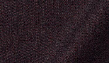 Fabric swatch of Canclini Burgundy Large Birdseye Beacon Flannel Fabric