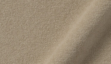 Fabric swatch of Japanese Beige Terry Cloth Knit Fabric