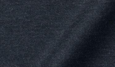 Carmel Dark Slate Melange Tencel and Cotton Knit Pique Fabric Sample