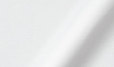 Fabric swatch of Carmel White Tencel and Cotton Knit Pique Fabric