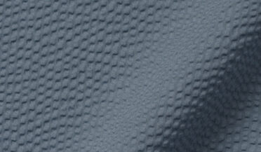 Fabric swatch of Canclini Slate Blue Seersucker Fabric