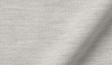 Japanese Light Grey Melange Pincord Fabric Sample