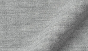 Fabric swatch of Japanese Grey Melange Pincord Fabric