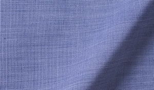 Fabric swatch of Canclini Dark Blue End on End Fabric
